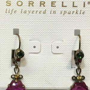 NWT Sorrelli Leverback earrings